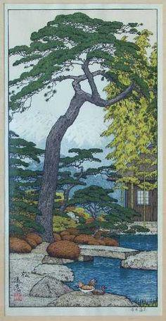 Pine by Toshi Yoshida