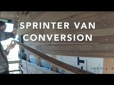 Mercedes Sprinter Van Conversion: Start To Finish In Solid Walnut - YouTube