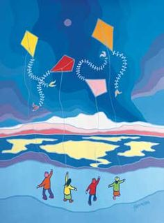 View Dancing Kites by Ted Harrison on artnet. Browse upcoming and past auction lots by Ted Harrison. Ted, Native Art, Native American Art, Go Fly A Kite, Kite Flying, Artist Card, Popular Artists, Learn Art, Canadian Artists