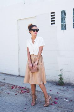 everything about this is perfect. The neutral tones, the casual fit, the elegance.