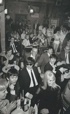 The Beatles Visit The Peppermint Lounge in New York City, 1964 Photo by Michael Ochs Amazingly, they all look happy, and are smiling, How that would c... - Sean Cowen - Google+
