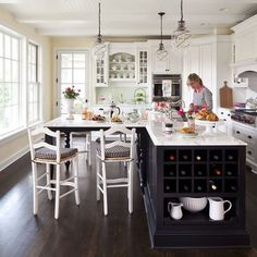 T-shape Kitchen Islands Design Ideas, Pictures, Remodel, and Decor