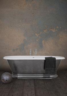 The Shikara floor mounted bath.