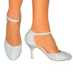 Ladies Womens White Pearls Glitter Diamante Bridesmaids Bridal ...
