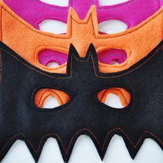 Easy DIY Bat Felt Mask