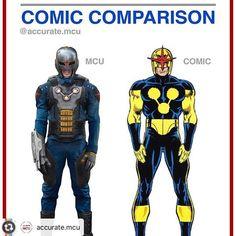 Comic Comparison Nova