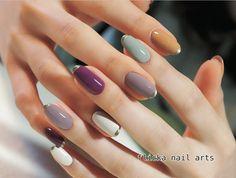 Pin by Pony on ⭐️Nail Cute Nails, Pretty Nails, My Nails, Cute Nail Art Designs, Japanese Nail Art, Manicure Y Pedicure, Dream Nails, Yellow Nails, Stylish Nails