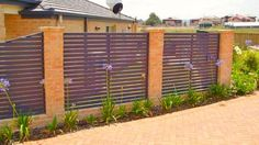 80 Fence Design Ideas for House 2017 - Garden and relaxing space Fence P...