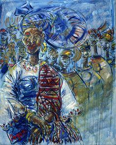 Art work of Dayo Laoye, official curator of AFA