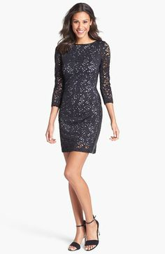 Marc New York by Andrew Marc Lace Sheath Dress available at #Nordstrom