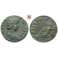 Römische Provinzialprägungen, Lydien, Saitta, Otacilia Severa, Frau Philippus I., Bronze, ss: Lydien, Saitta. Bronze. Drapierte… #coins