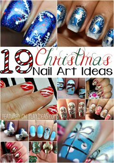 19 Christmas Nail Art Ideas
