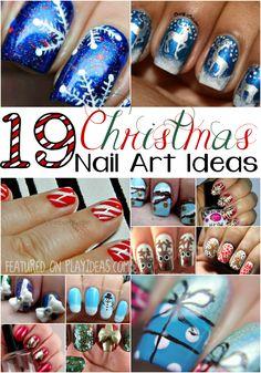 19 Christmas Nail Art Ideas