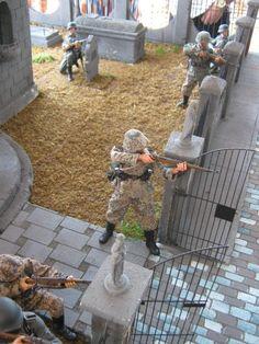 Diorama 1/6th Scale: World War II