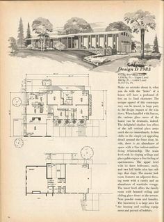 Home Planners Inc Mid Century Plans Picture Database Arizona Ideas Gallery