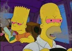 simpsons, weed, and bart image Weed Wallpaper, Simpson Wallpaper Iphone, Homer Simpson, Psychedelic Art, Image Triste, Arte Dope, Ichigo Y Rukia, Stoner Art, Pinturas Disney