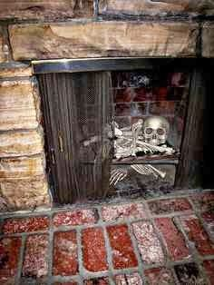 MaryJanes and Galoshes: What Is Your Halloween Fireplace Style?