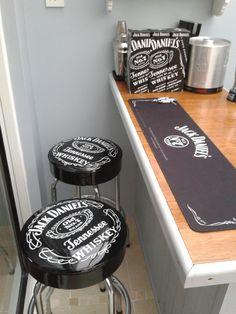 Jack Daniels Bar Stools