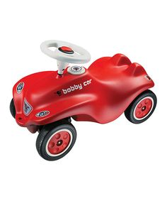 This Red Big Bobby Car Ride-On by Big Toys USA is perfect! #zulilyfinds