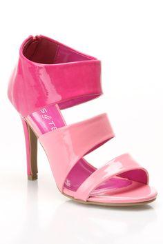 2480cebd8c09 Golden West Talena 04 Sandal Heels in Hot Pink - Beyond the Rack Beyond The  Rack