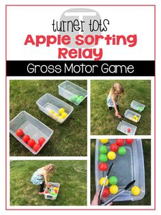 Does your little tot love apples? Bite into learning with this unit and take a deeper look at apples through the exploration of books, dramatic play, and games. Preschool Movement Activities, Preschool Apple Activities, Preschool Apple Theme, Preschool Colors, Fall Preschool, Preschool Printables, Preschool Projects, Learning Activities, September Preschool Themes