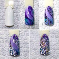 #уроки_маникюра #гель_лак #лак #маникюр #дизайн_ногтей #ногти #фотоуроки…