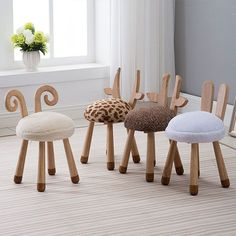 kids wooden chair on sale at reasonable prices, buy Modern Design Solid Wooden animal design Kids Baby Chair, cute lovely Child Kid Wood Chair, nice fashion design baby chair 1 PC from mobile site on Aliexpress Now! Playroom Furniture, Baby Furniture, Rustic Furniture, Children Furniture, Furniture Outlet, Office Furniture, Discount Furniture, Furniture Stores, Furniture Ideas