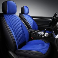 This is a luxury car seat cover that comes in 5 colors, black, red, burgundy, and orange, you can find your loved one from them, the fabric is linen, comfortable and breathable. #beddinginn #carseatcovers #carinterior #cardecoerationinterior Garniture Automobile, Car Seat Upholstery, Engraving Printing, Seat Covers, Front Row, Luxury Cars, Packaging Design, Car Seats