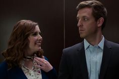 Vanessa Bayer Recreates Fifty Shades Elevator Lust in Hilarious Audi Short - Video - Creativity Online
