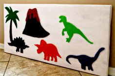 Make for his birthday, keep for his bedroom! Diy Quiet Books, Felt Quiet Books, Party Activities, Infant Activities, Baby Activity Board, Flannel Board Stories, Fuzzy Felt, Quiet Book Patterns, The Good Dinosaur
