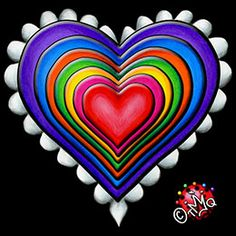 COOL Rainbow Hearts