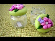 Resultado de imagen para potes de flores em biscuit