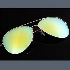 Aviator Sunglasses Blue Green Polarized Unisex Brand new. High quality. Trendy. Accessories Sunglasses