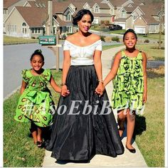 Designer Shellsnaija & her daughters ~African fashion, Ankara, kitenge, African women dresses, African prints, Braids, Nigerian wedding, Ghanaian fashion, African wedding ~DKK