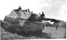 Maus - German super heavy tank prototype, the heaviest tank ever built. Extremely slow (only 20 km/h on road, 13 km/h or less on terrain), heavy (188 tonnes), large (10.2 metres  long, 3.71 metres  wide and 3.63 metres tall). Incredible thick armour (200 mm front plate, 240 mm turret front). Two guns in turret, main 128 mm KwK 44 gun L/55 and secondary 75 mm KwK 44 gun L/36.5.  Real steel monster...