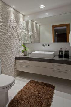 Banheiro papel 3D