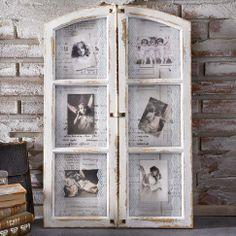 "Bilderrahmen ""Antikes Fenster"" in antik bei Gingar"