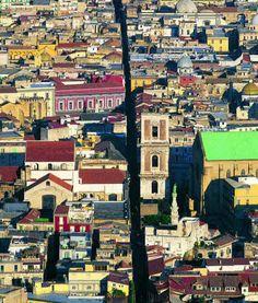 Neapel Stadt Spaccanapoli