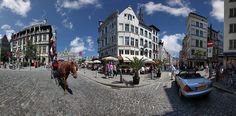 9 pictures stitched covering around and to be see in XXL Antwerp Belgium, Street View, Europe, Amazing, Life