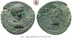 RITTER Kilikien, Epiphaneia, Geta, Nike #coins