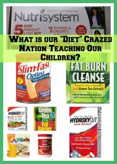 """What is our """"diet"""" crazed nation teaching our children?"""