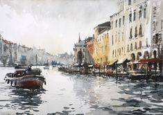 Tony Belobradic   WATERCOLOR   Venice