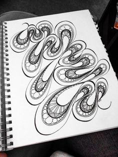 Absolutely Beautiful Zentangle patterns For Many Use (41)