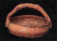 Ancient Shigaraki pottery.