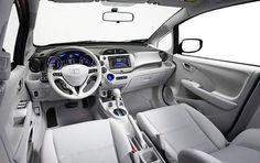 Honda Fit EV interior