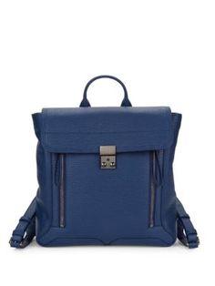 $314.99. 3.1 PHILLIP LIM Backpack Pashli Leather Backpack #31philliplim #backpack #leather #bags Leather Flats, Leather Booties, Leather Satchel, Leather Backpack, Backpack Straps, Spring Trends, 3.1 Phillip Lim, Strappy Sandals, Messenger Bag