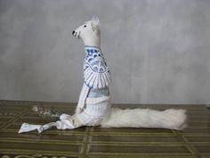 N° 492 - COUÏN-ZABETH du Manoir des Enchaussettés - © 2012 Véronique LaFont -  Sculpture