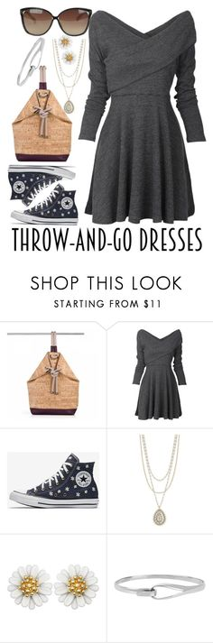 """""""Untitled #155"""" by faceless-girl on Polyvore featuring Lucky Brand, Diane Von Furstenberg, Linda Farrow and easydresses"""