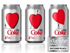 #Packaging Lata de Coca-Cola Diet.