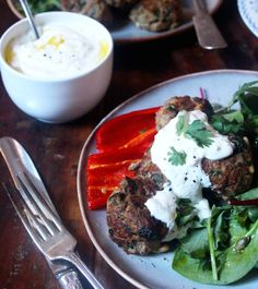 Lamb Koftas with Lemon Yoghurt - The Little Green Spoon